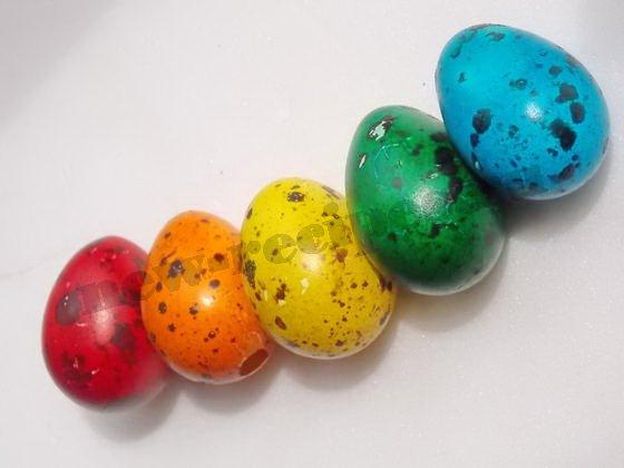 как покрасить перепелиные яйца