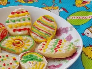 пасхальное печенье фото