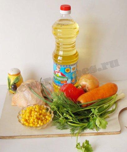ингредиенты для вкусной подливки