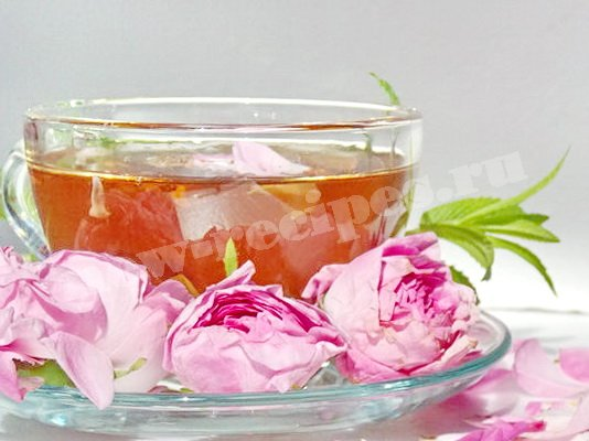 чай с чайными розами фото
