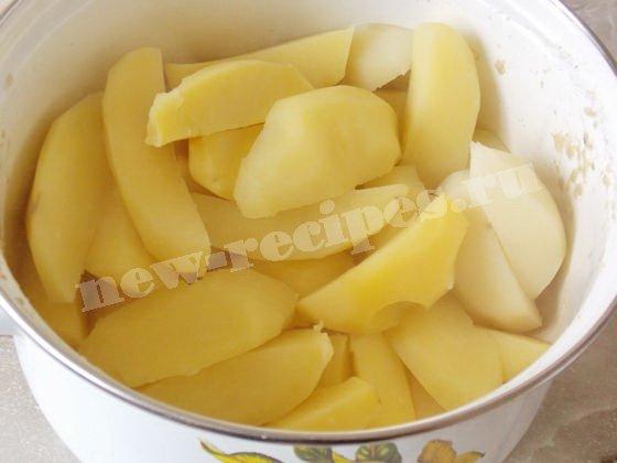сольём картофельный отвар