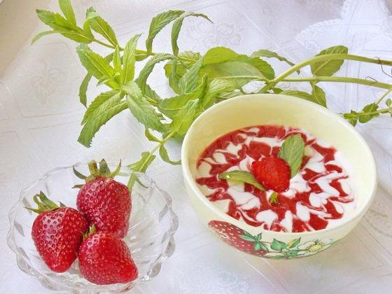 клубничный суп рецепт