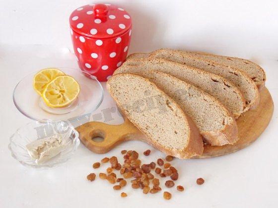 ингредиенты для кваса из ржаного хлеба