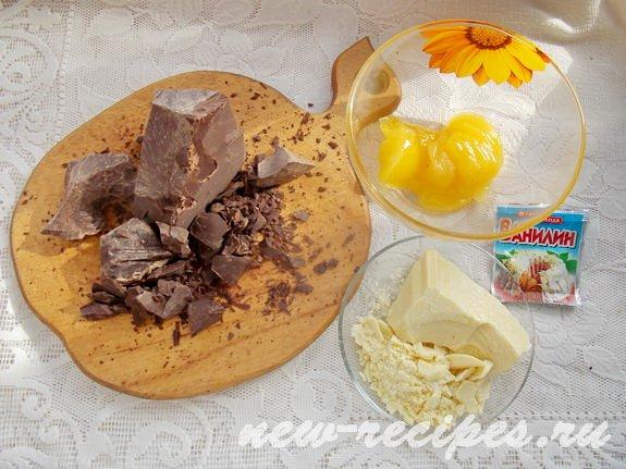 ингредиенты для приготовления шоколада из какао тёртого и какао масла