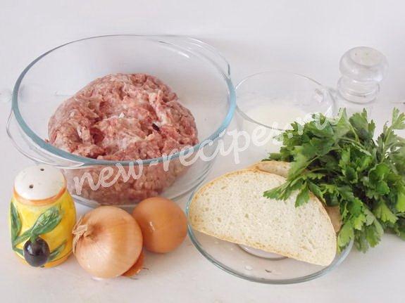ингредиенты для люля-кебаб из фарша