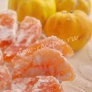 рецепт айвовых цукатов