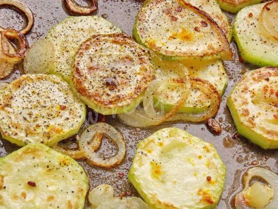 рецепт вкусных кабачков с луком