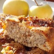 пирог с яблочной карамелью