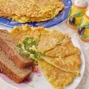 блинчики из тёртой картошки с яйцом