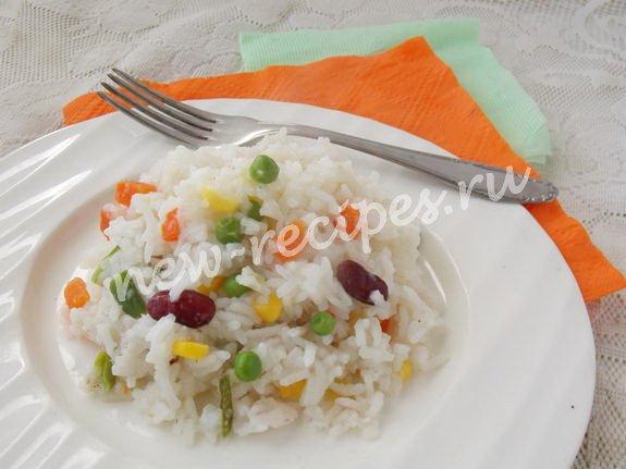 рис с мексиканской смесью и мясом рецепт