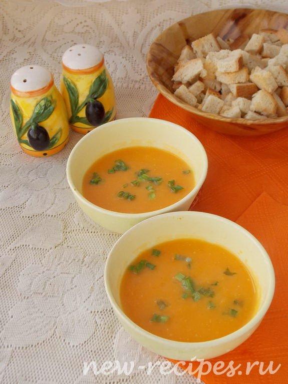 рецепт тыквенного супа-пюре