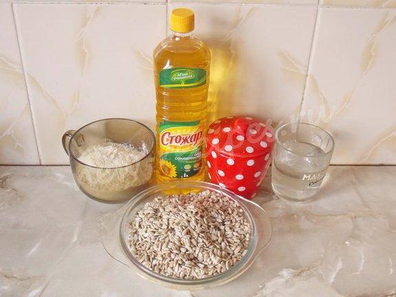 ингредиенты для халвы из семечек