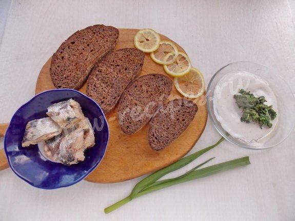 как приготовить бутерброды с сардинами