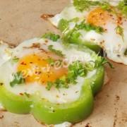 рецепт яичницы в перце