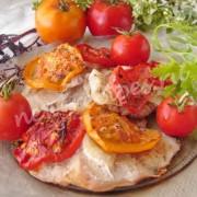 свинина запечённая с помидорами