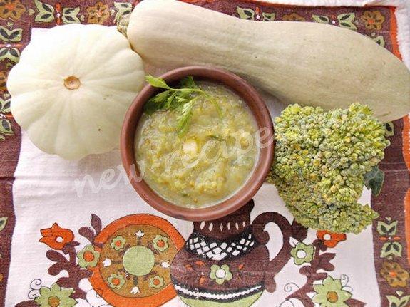 рецепт супа-пюре из зелёных овощей