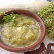 суп-пюре из кабачка и брокколи