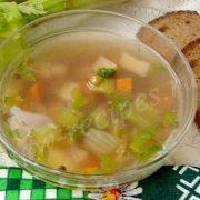 суп с черешковым сельдереем
