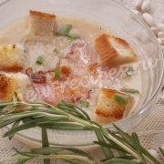 суп пюре из фасоли