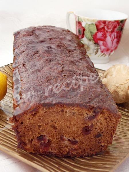 ароматный имбирный кекс