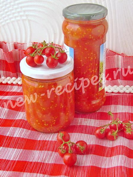 рубленые томаты