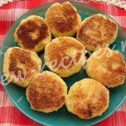 картофельники с начинкой из печёнки